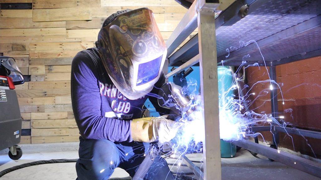 Custom Railing Aluminum Weld
